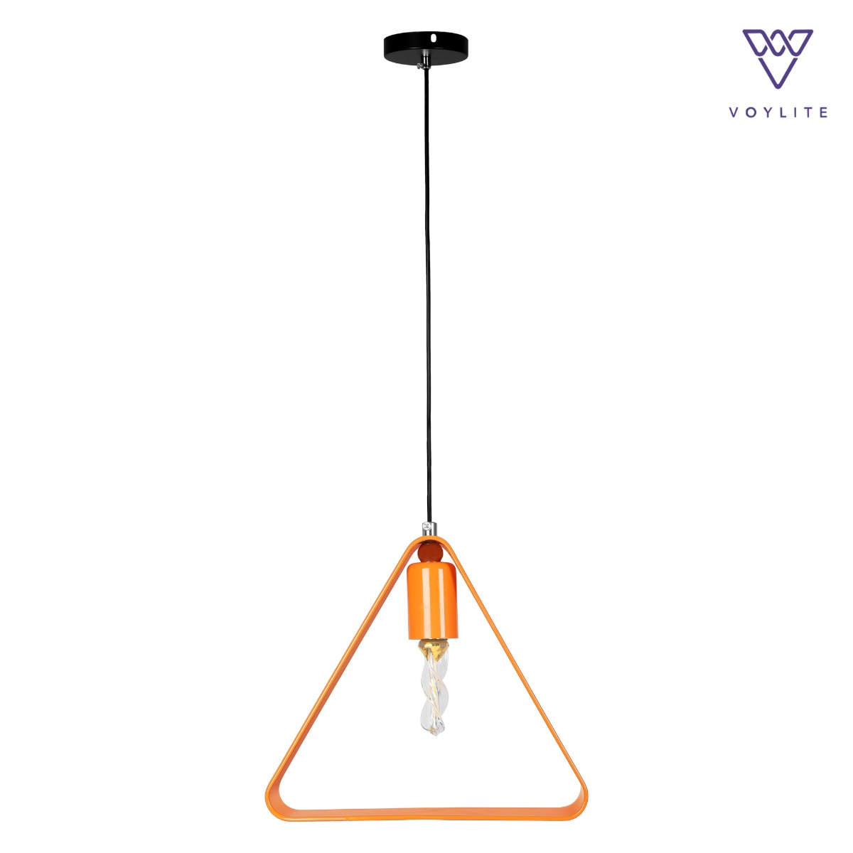 Rigido Triangle Orange Pendant
