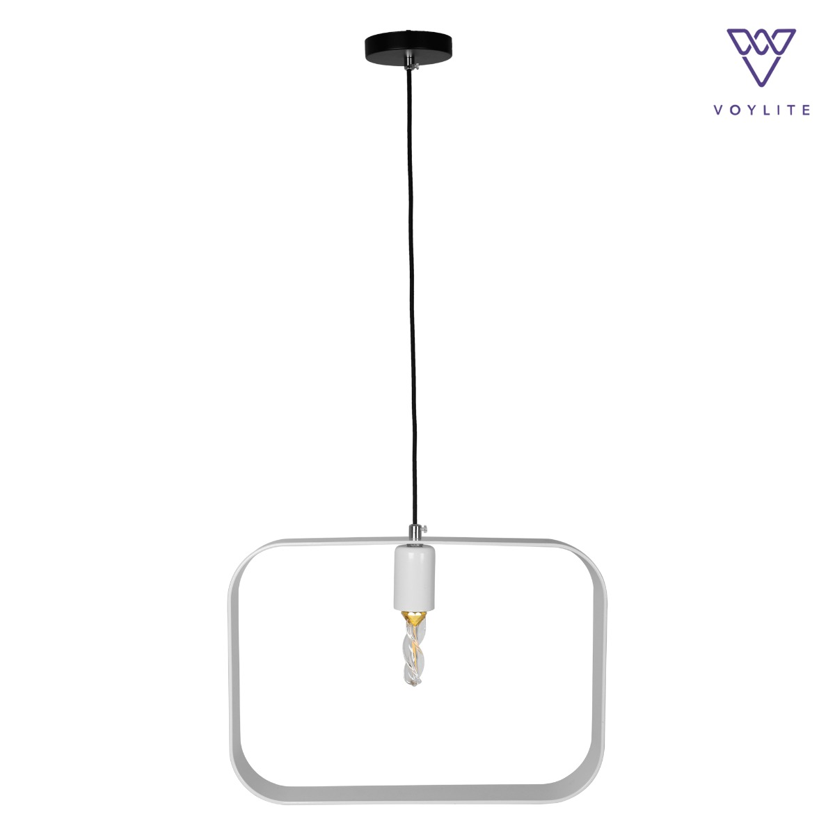 Rigido Rectangle White Pendant