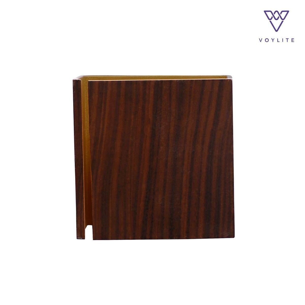 Vallie ( S ) Wood & Gold
