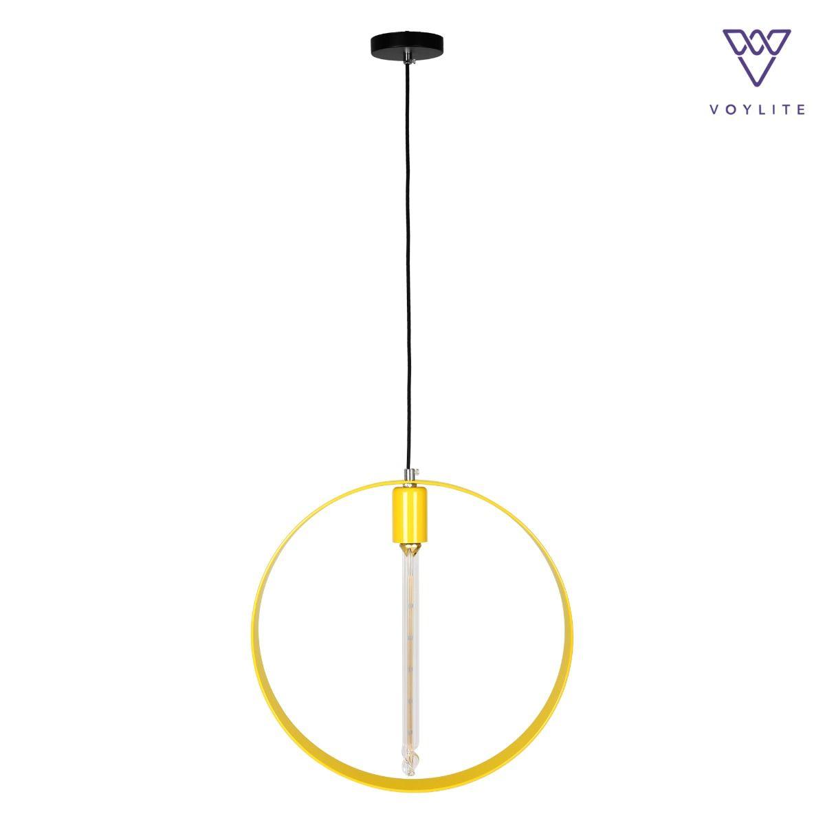 Rigido Circle Yellow Pendant