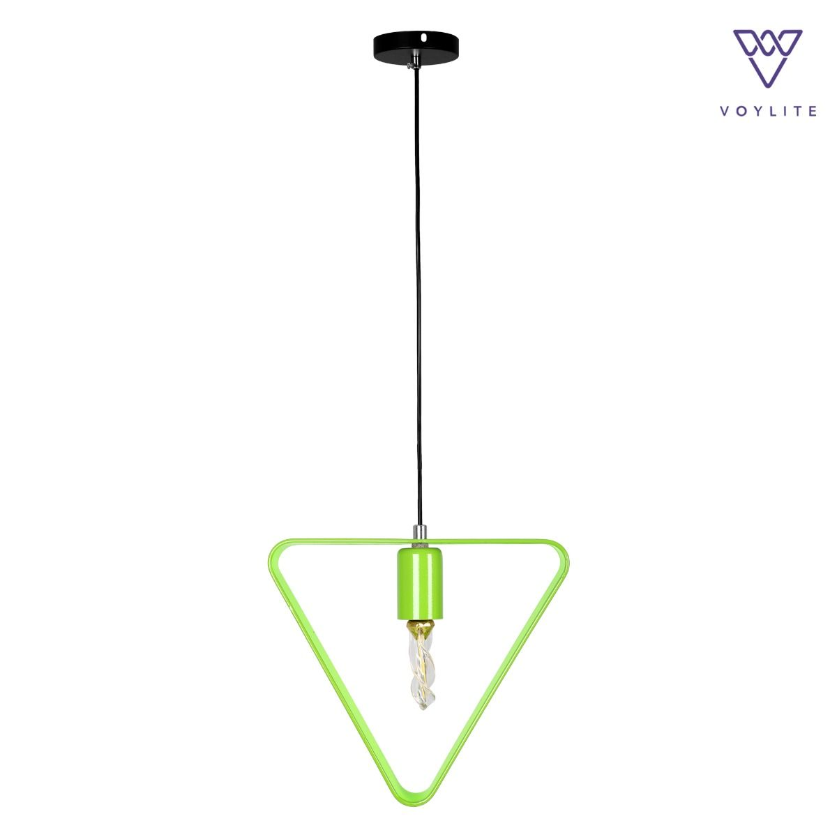 Rigido Triangle Green Pendant