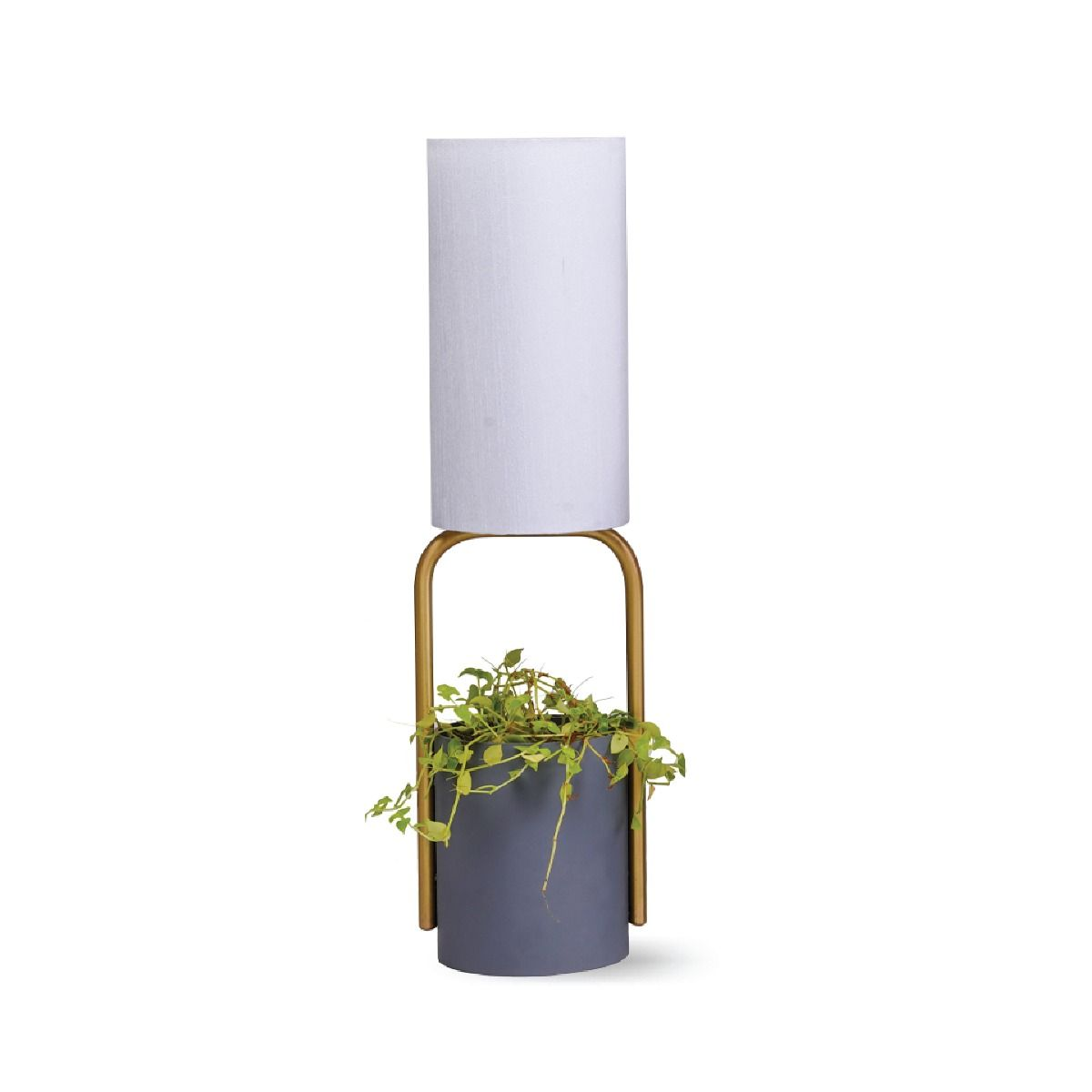 Eco-Deco Grey Table Lamp