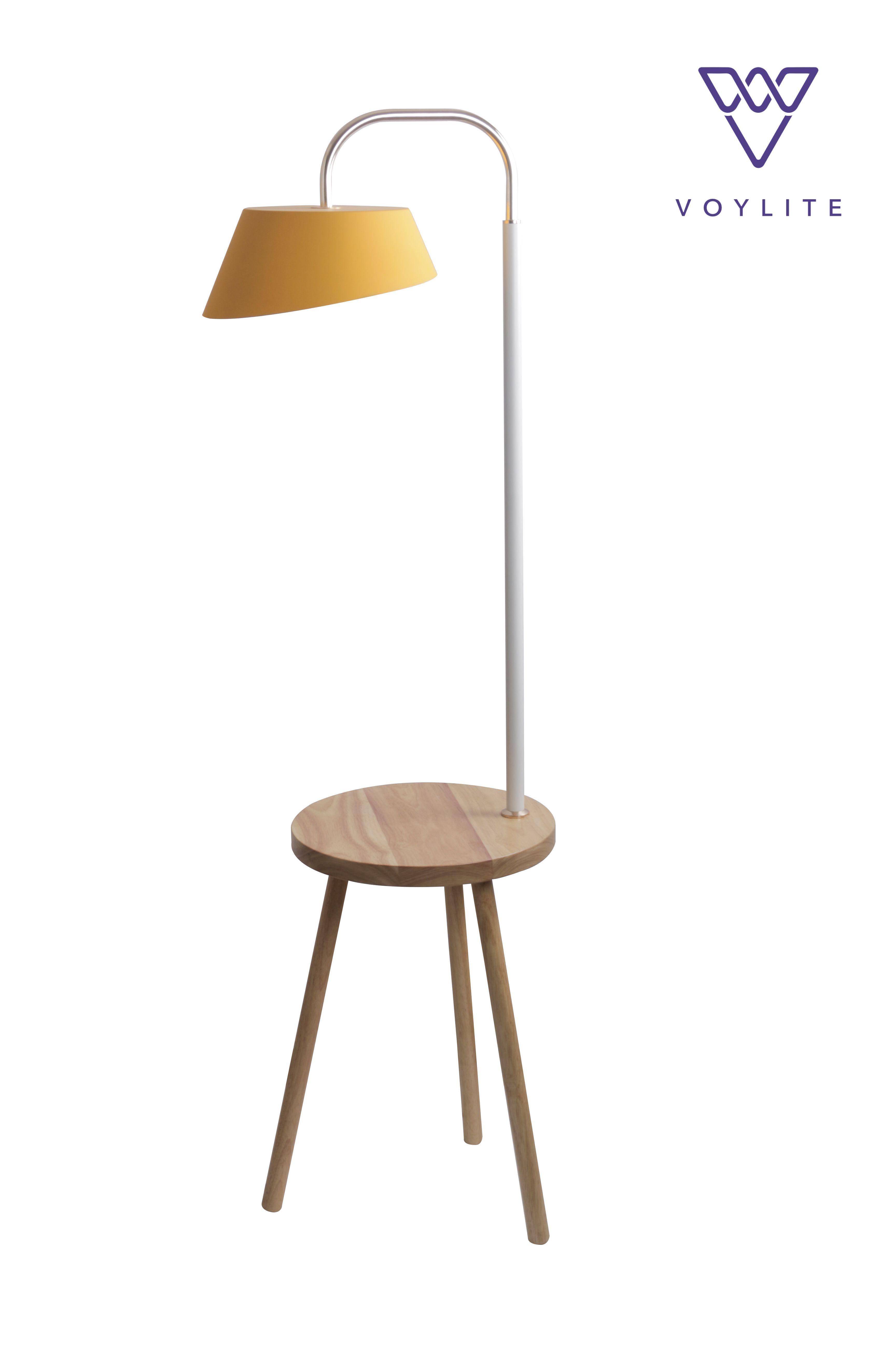 Wallace Yellow Floor Lamp