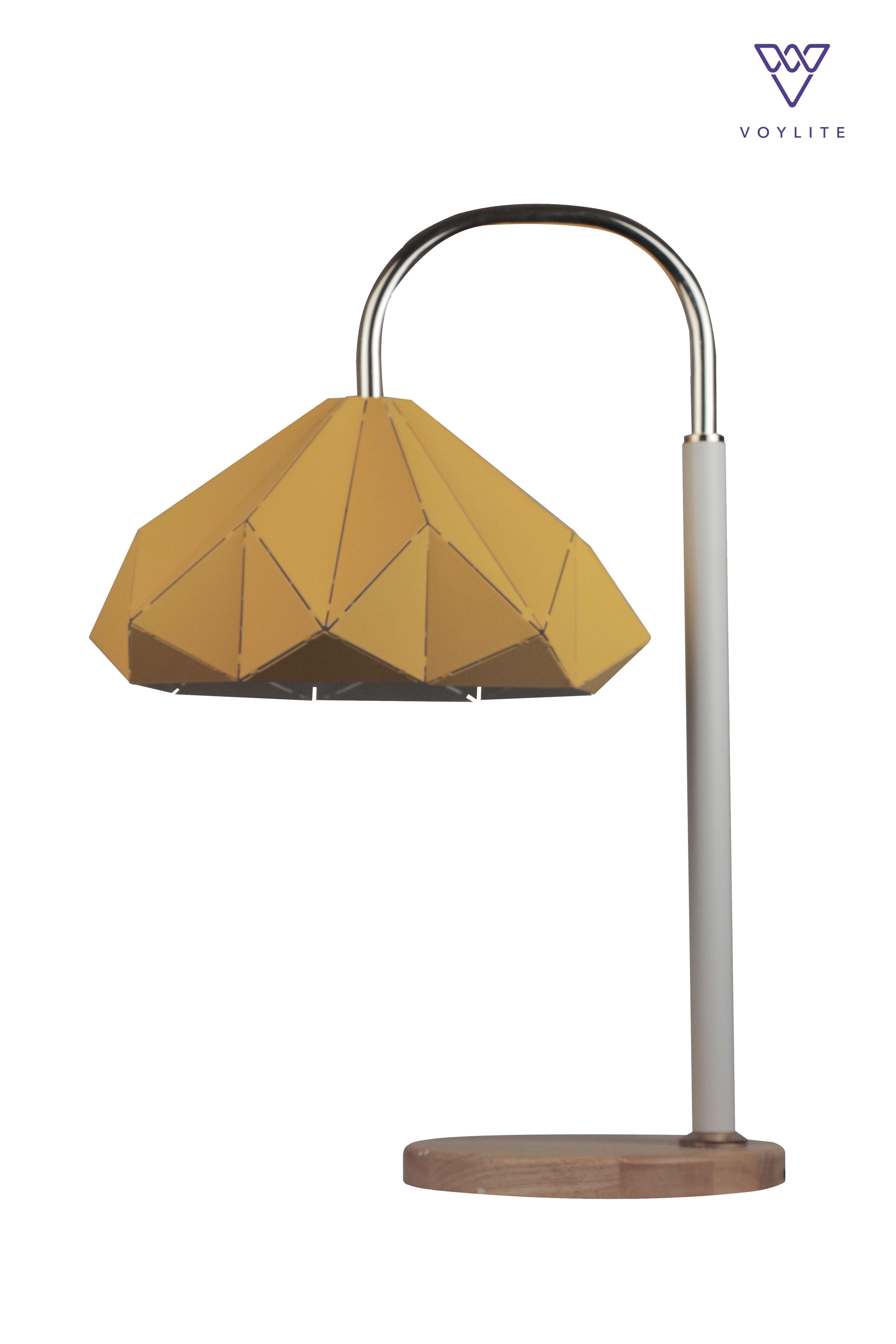Alair Yellow Table Lamp