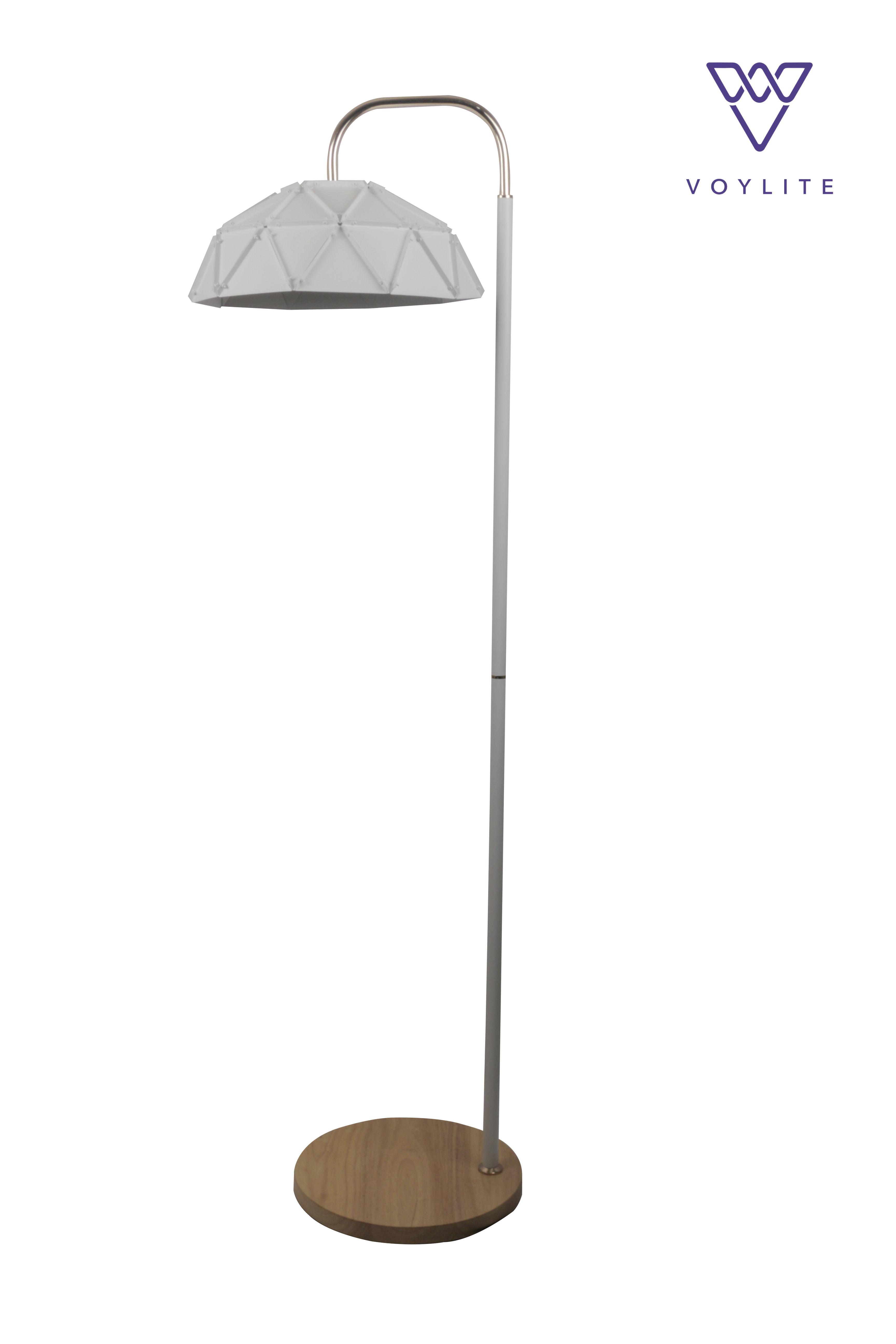 Geo Blong White Floor Lamp