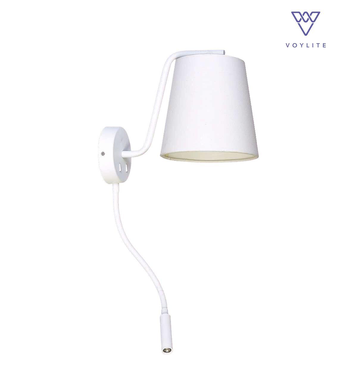 Lianura White Wall Lamp