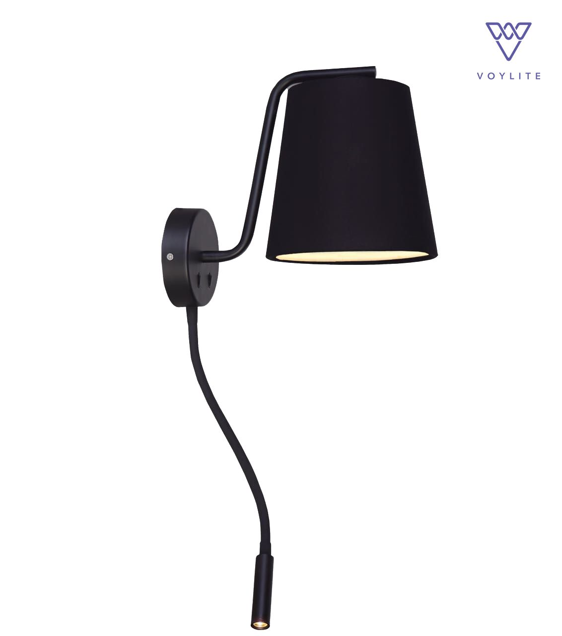 Lianura Black Wall Lamp