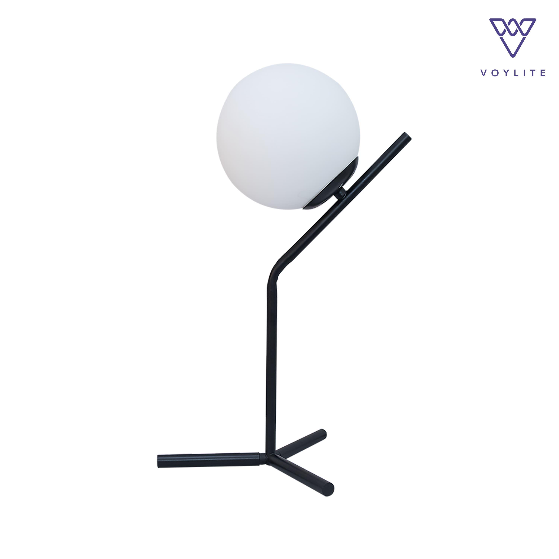 Metis Black Table Lamp