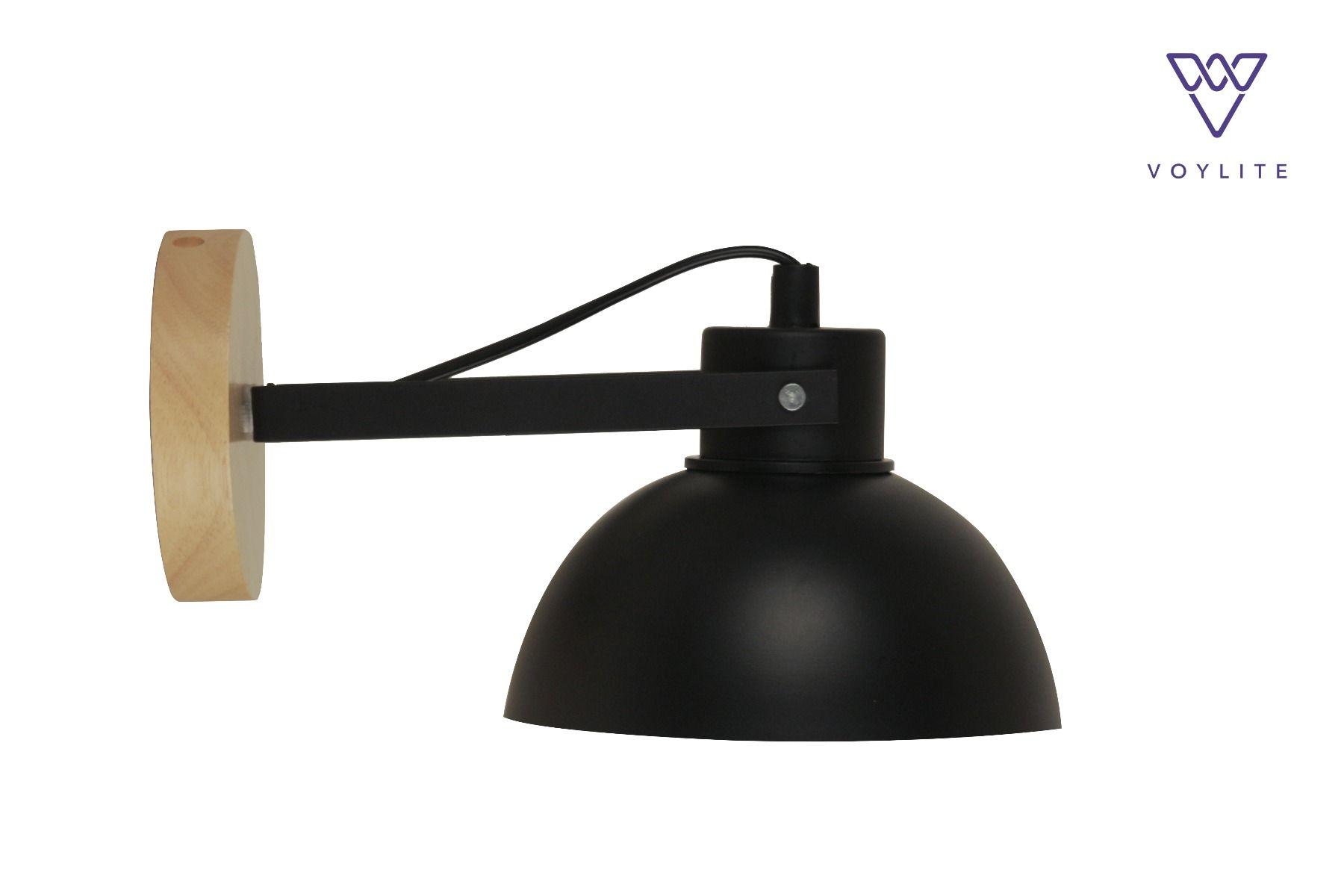 Lugar Black Wall Lamp