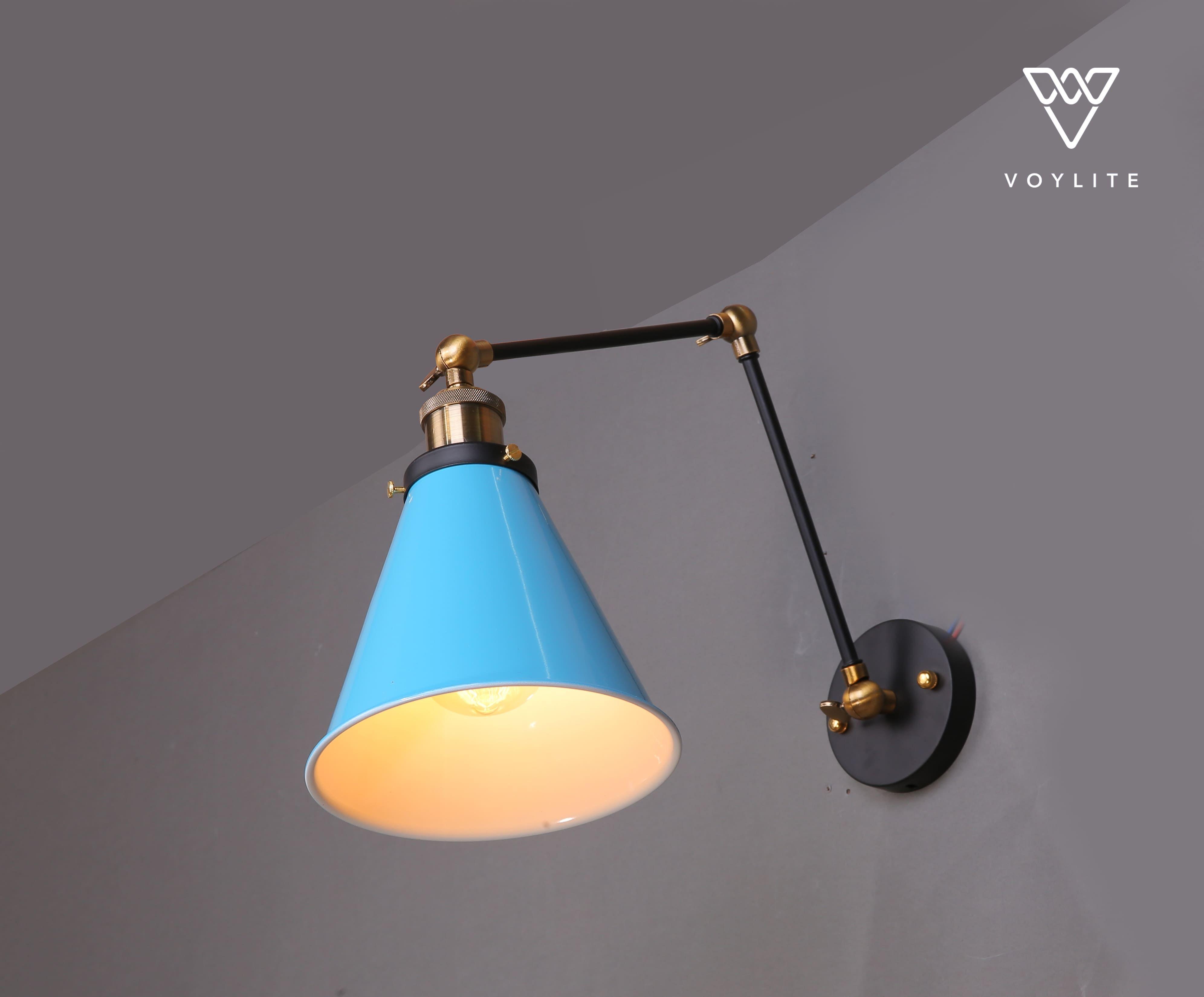 Plak Blue Wall Lamp