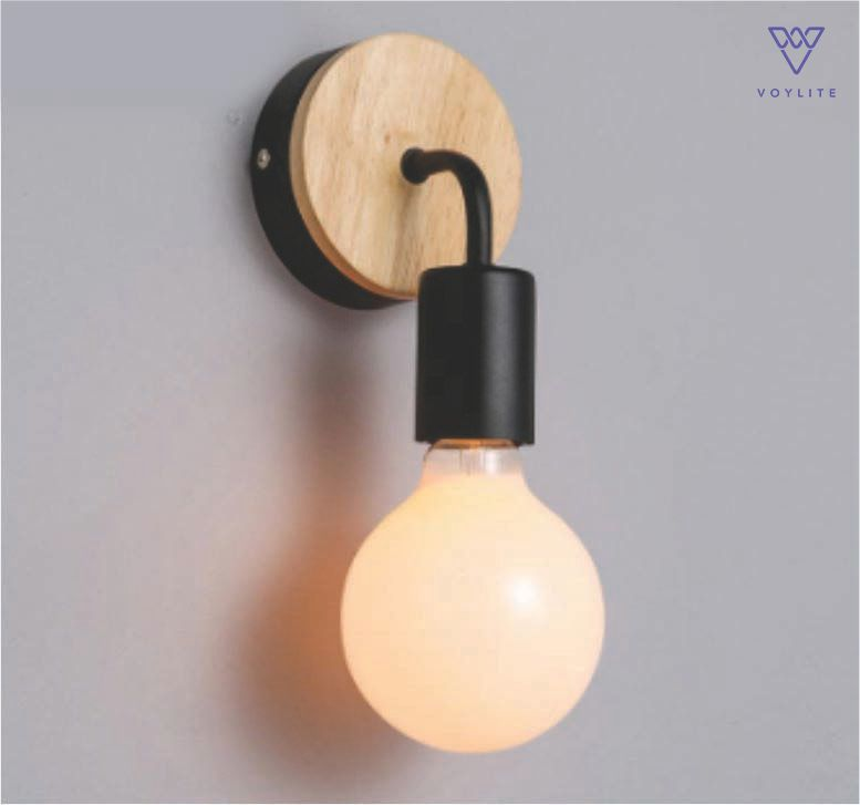 Wirk Black Wall Lamp