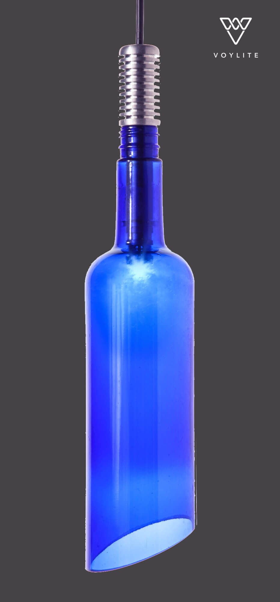 Grappa Deep Blue 1W Pendant