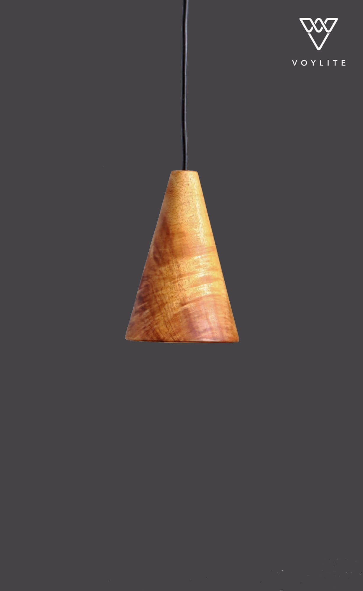 Cone Hanging Large 6W Pendant