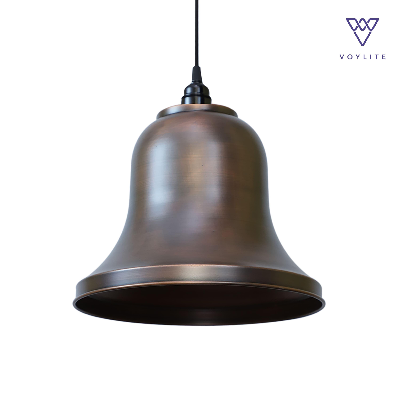 Rim Bell Antique Copper Pendant