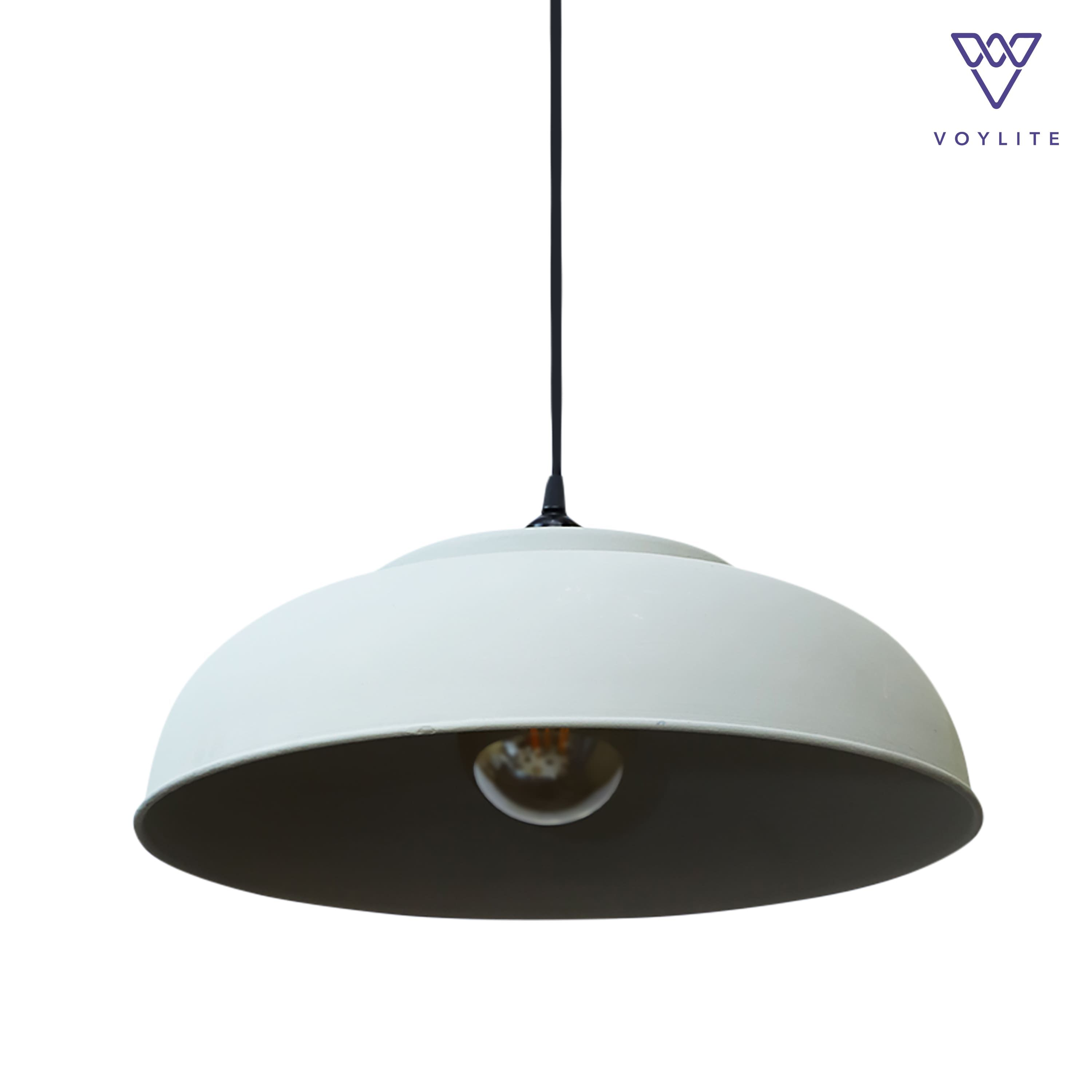 Rimz Cement Pendant Large