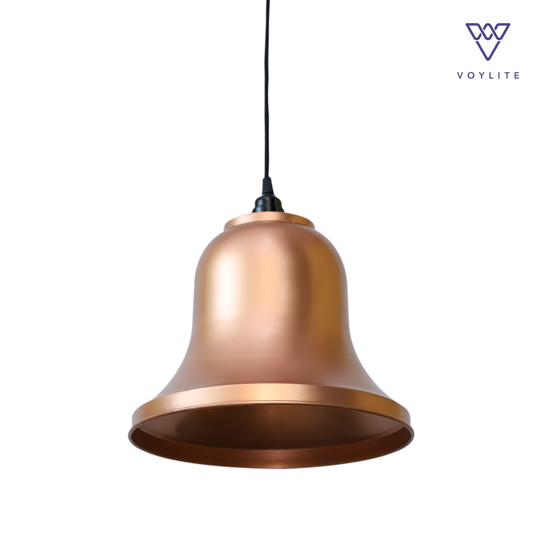 Rim Bell Copper Pendant