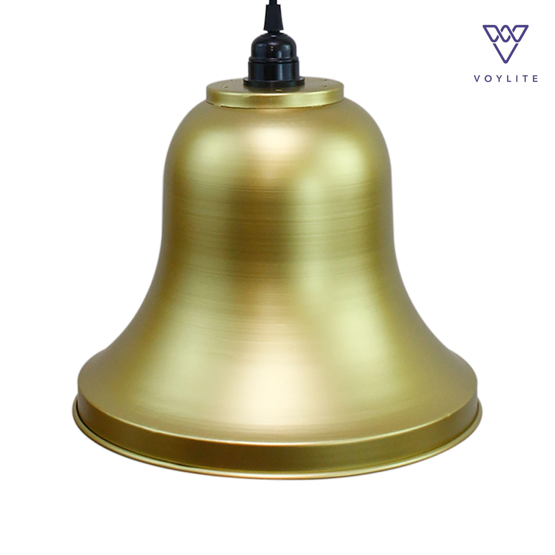 Rim Bell Matt Gold Pendant