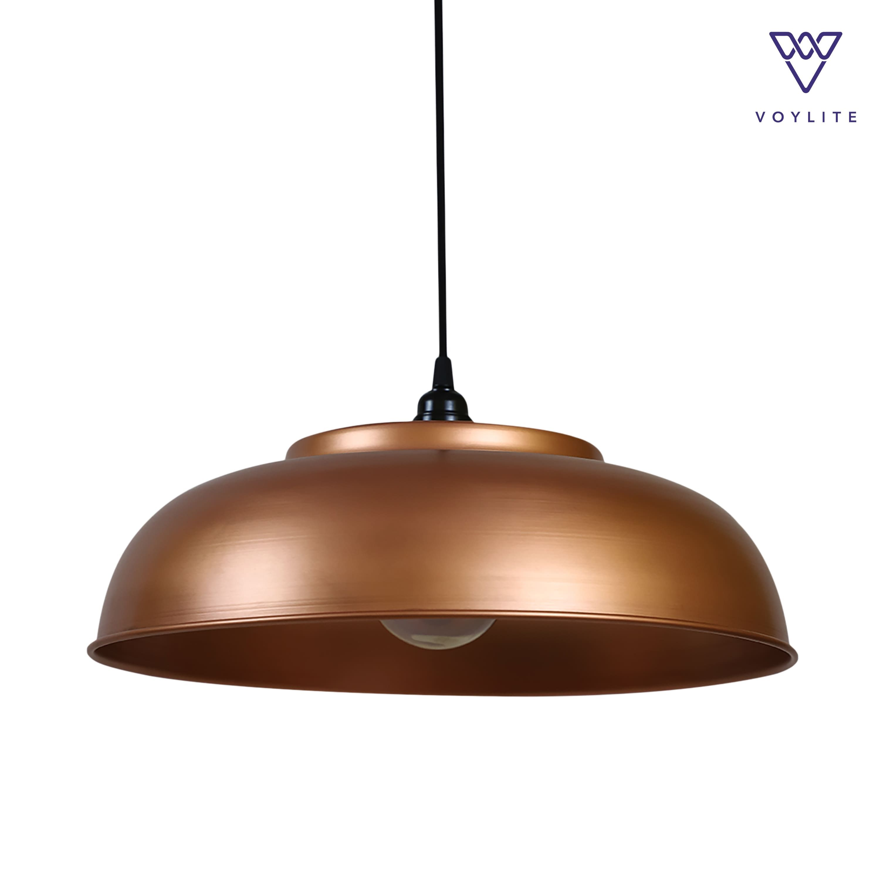 Rimz Copper Pendant Large