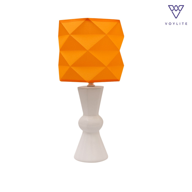 Tomoko Orange Table Lamp