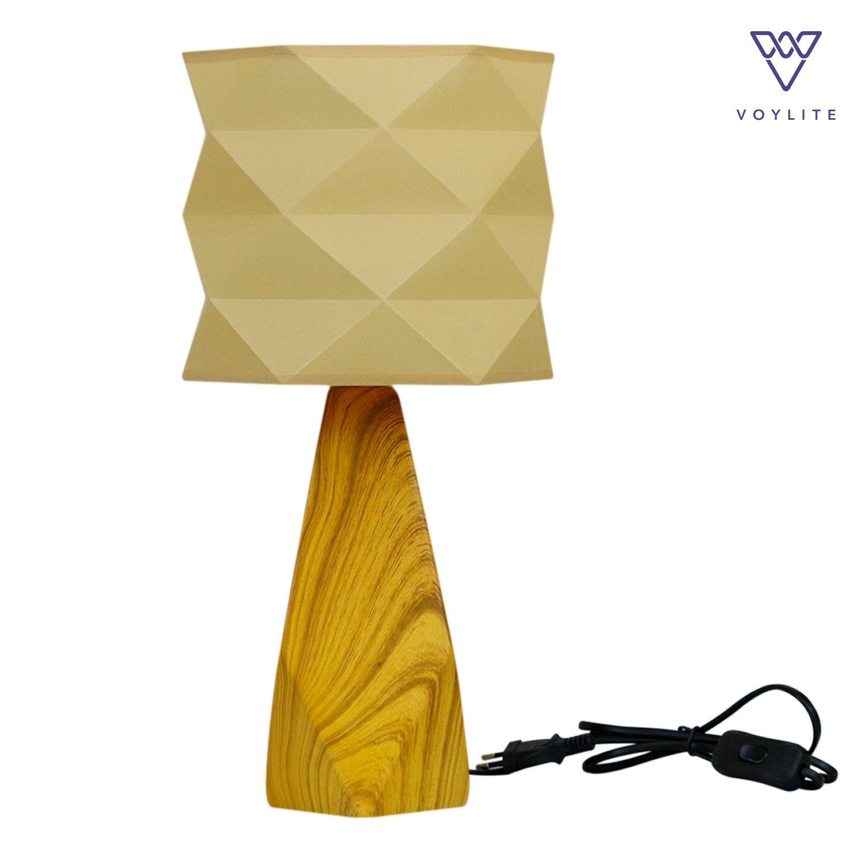 Akira Yellow Table Lamp