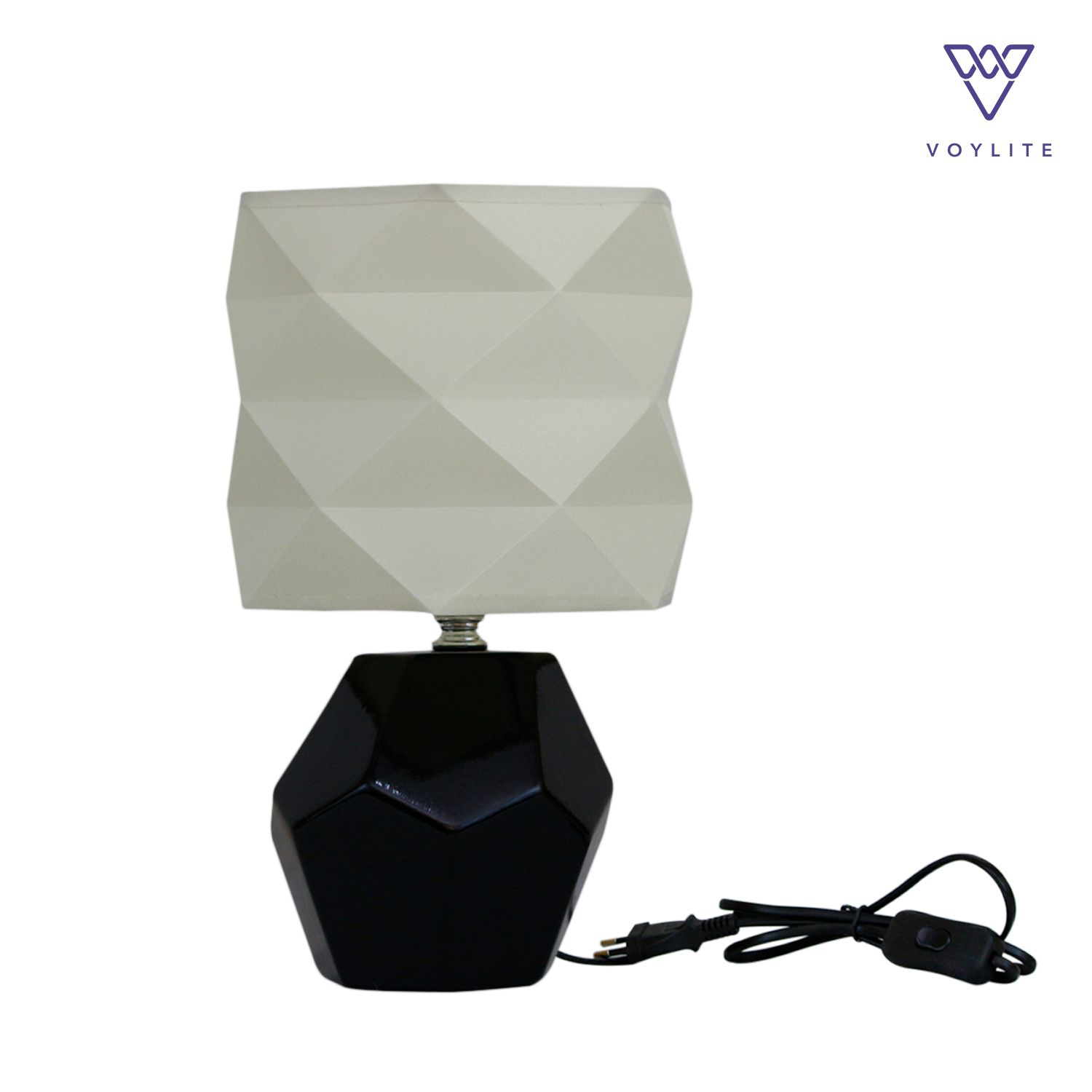 Tissu Off-White Table Lamp