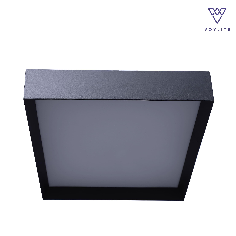 Noite Black Ceiling Light