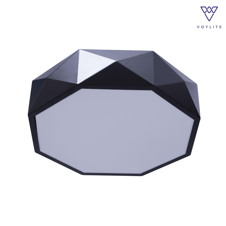 Seis Black Ceiling Light (R)