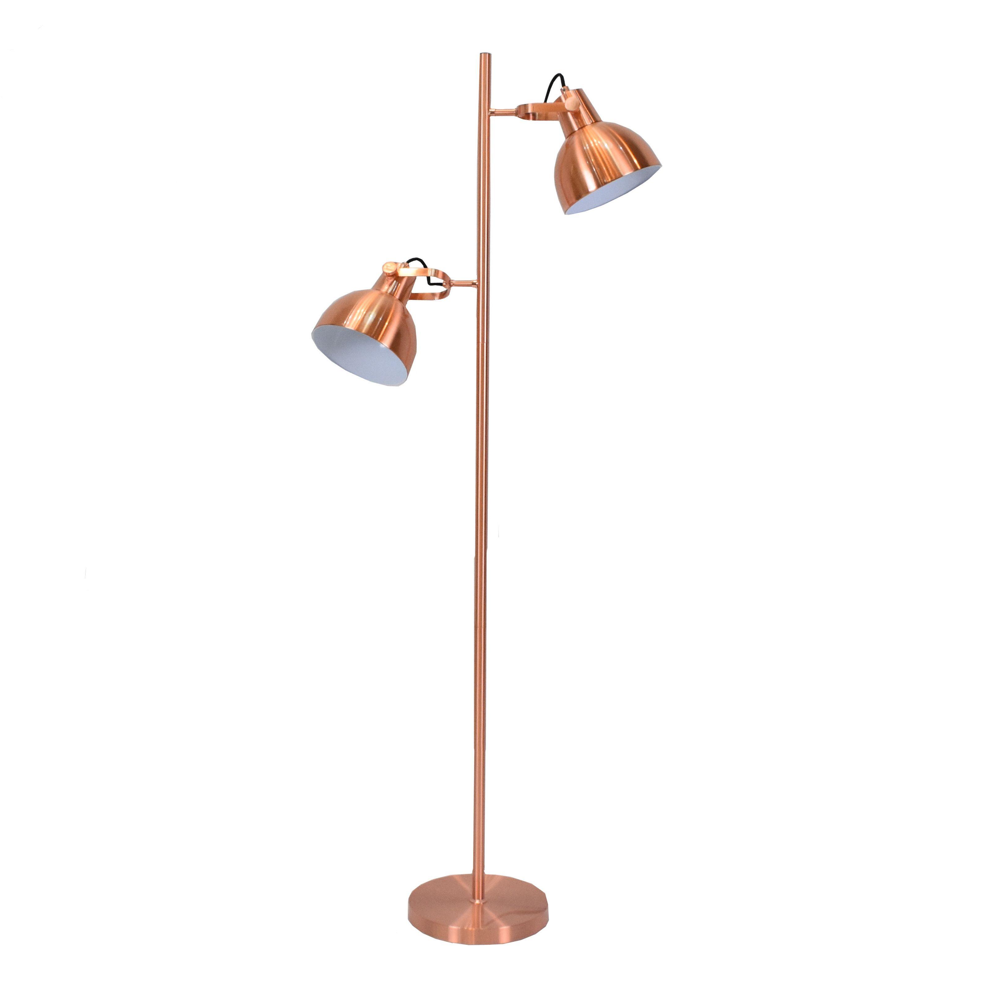 Prolix Copper Floor Lamp