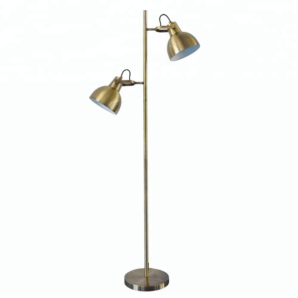 Prolix Brass Floor Lamp