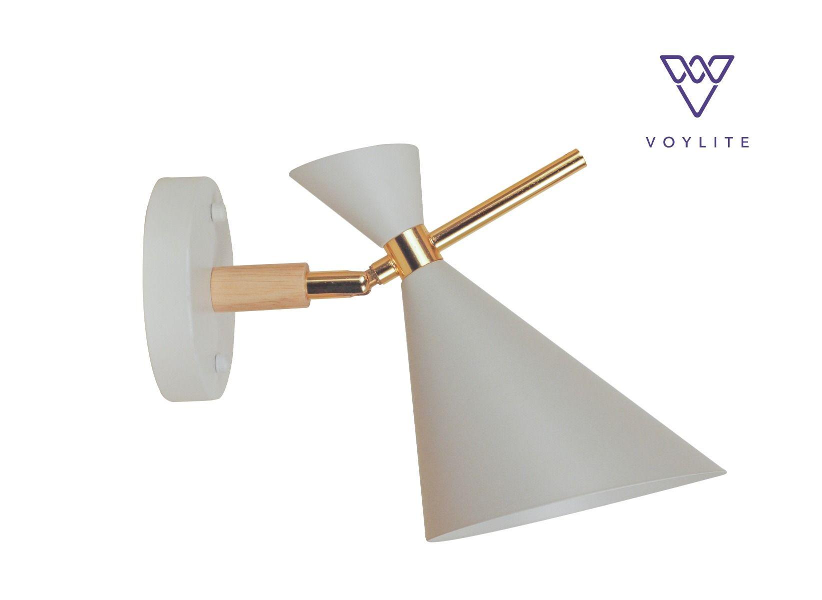 Hourglass White Wall Lamp