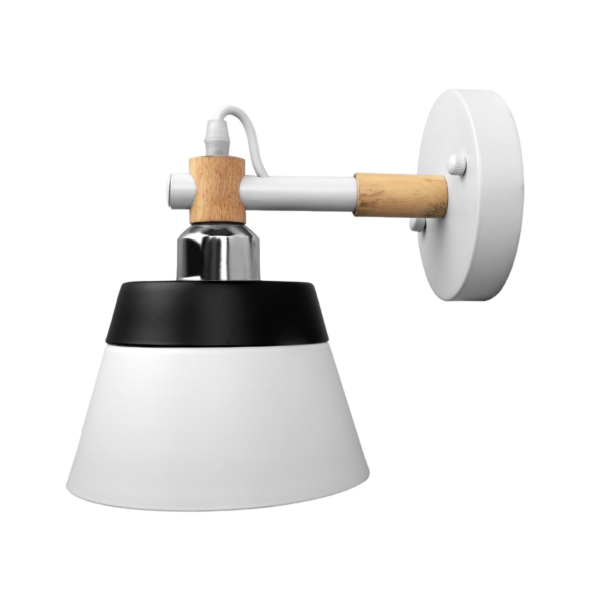 Zwickau White Wall Lamp