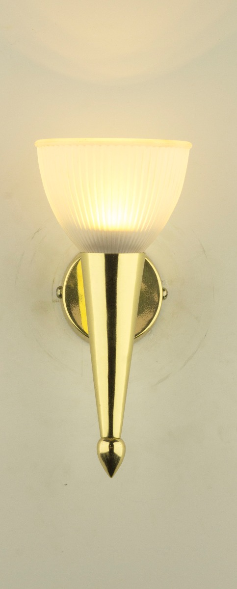 Brass Torch -Small Wall Sconce