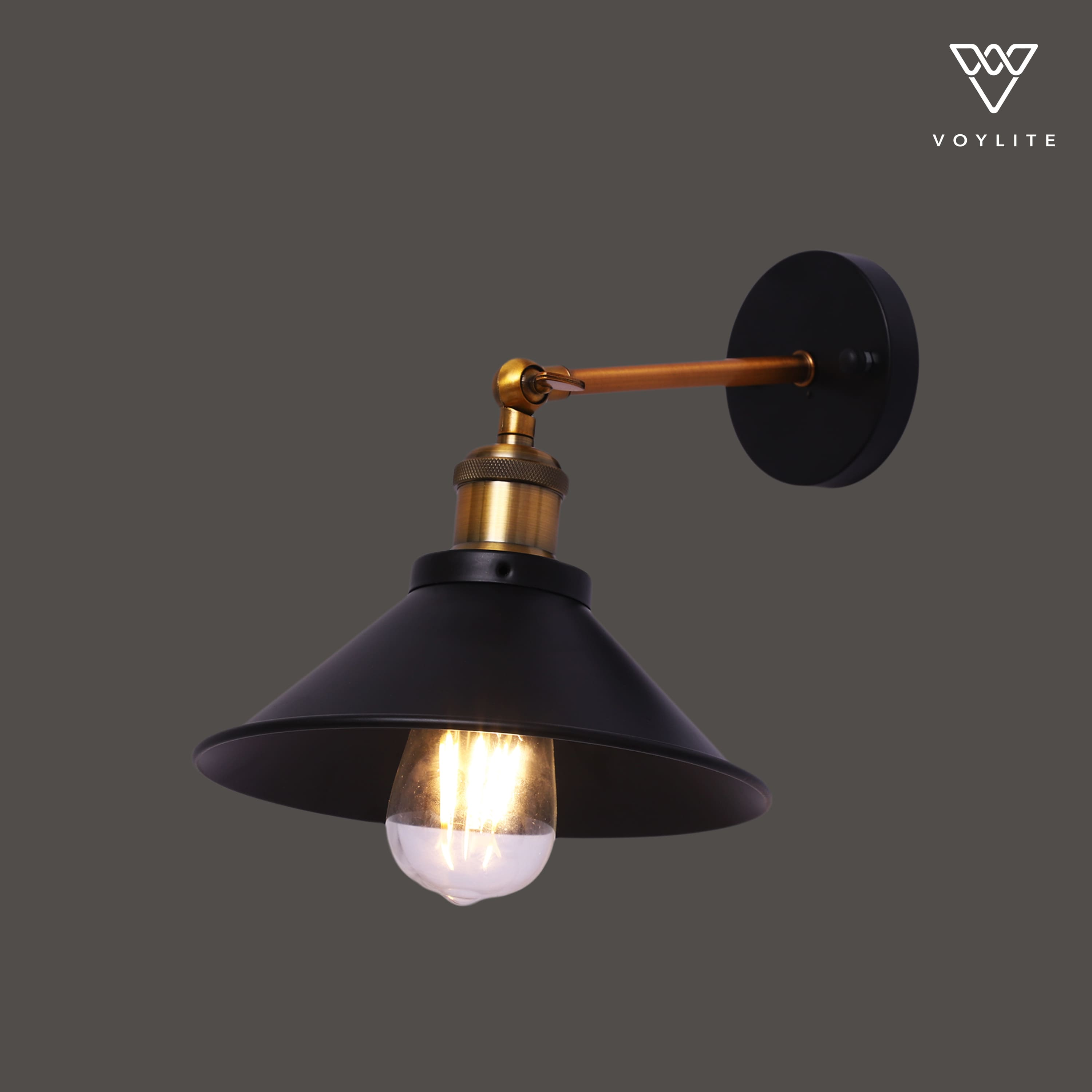 Cornet Wall Light