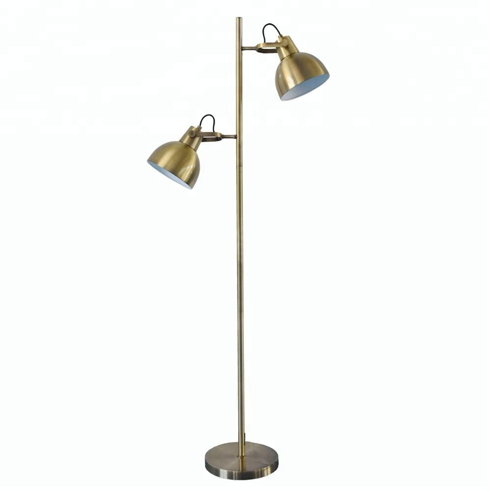 Prolix Brass Floor Lamp