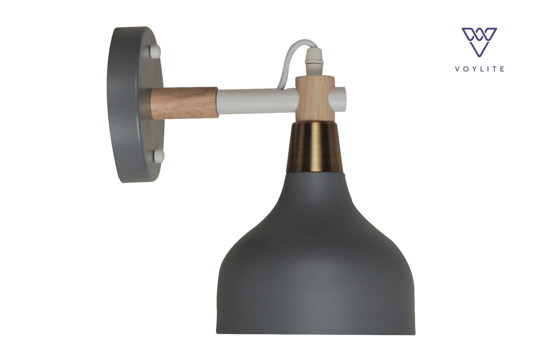 Oswego Grey Wall Lamp
