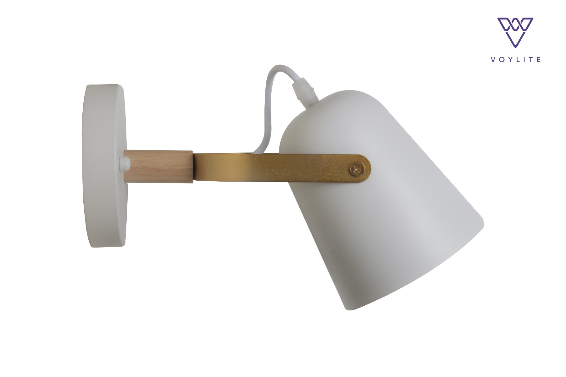 Hector White Wall Lamp