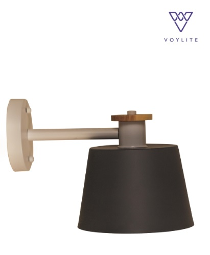 Caapri Grey Wall Lamp